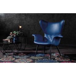 Арт кресло LONGWAVE BLUE