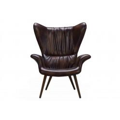 Арт кресло LONGWAVE BROWN