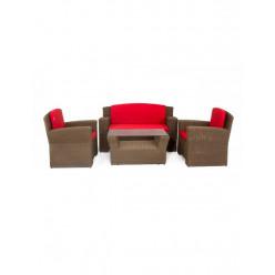 Комплект Takko (стол кофейный + 3-х мест.софа + 2 кресла)
